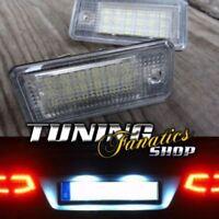 2x LED SMD Kennzeichenbeleuchtung Kennzeichen Leuchten SET CANBUS #7 TÜV-FREI !