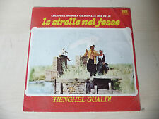 """HENGHEL GUALDI""""LE STRELLE-disco 45 giri it-ONLY COVER/SOLO COPERTINA-OST/RARE"""