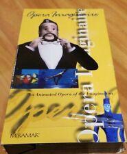 Opera Imaginaire VHS Movie  Miramar Video Animated Classical Music 50 minutes