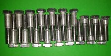 Ver2 Ford Straight 6 Six STAINLESS Exhaust Hex Bolts Zodiac Zephyr Falcon Consul