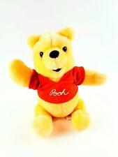 Disney Winnie The Pooh Plush Vintage Jointed Soft Toy Bear Disneyland