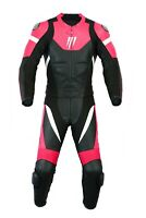 Motrox Ladies Leather Suit Motorbike Motorcycle Biker  With CE Armors