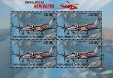 Hawker Beechcraft B350 King Air Ambulance (Flying Doctors) Aircraft Stamp Sheet