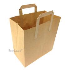 Brown Kraft sulfito Encordada alimentos dulces Sandwich Almuerzo de frutas comestibles bolsas de papel