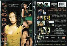 Scorpion Double Venom Nw Erotic DVD From Tokyo Shock Asian Cinema Toru Shinohara
