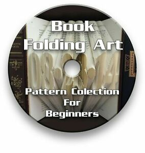 BOOK FOLDING PDF PATTERNS FOR BEGINNERS - ALPHABET, NUMBERS & HEART ON CD