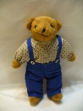 Collectible Stuffed Bear - Stuffed Animals - Teddy Bear with Handmade Clothing -