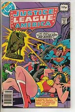 DC Comics Justice League Of America #166 May 1979 Identity Crisis F+