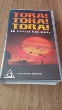 TORA TORA TORA THE ATTACK ON PEARL HARBOR - MARTIN BALSAM -  VHS VIDEO