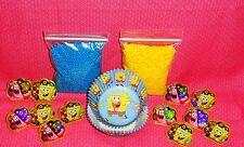 SpongeBob,Cupcake Kit,Rings,Sprinkles,Bake Cups,Wilton,415-5130,Blue/Yellow