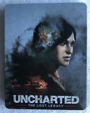 UNCHARTED THE LOST LEGACY Steelbook Case PS4 (No Game) New
