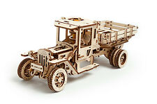 UGears -UGM-11 Truck- 3D Wooden Puzzles/Mechanical Models/Working Models
