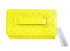 PINKY & BUSTER YELLOW SHOULDER BAG / CLUTCH.