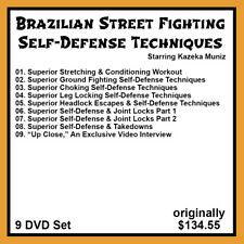 Brazilian Street Fighting with Kazeka Muniz (9 Dvd Set)