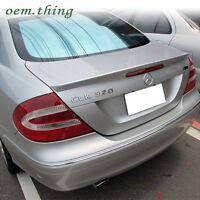 For Mercedes Benz W209 CLK Class Trunk Spoiler CLK320 Coupe 2D A Type CLK500