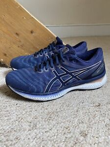ASICS Gel Nimbus 22 Trainers/Shoes Blue/White UK Sz. 7