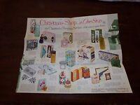 Vintage 1950's Watkins Christmas Shopping Guide Brochure