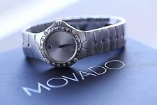 Movado Diamond watch with Box model 84 G4 1851 4839502