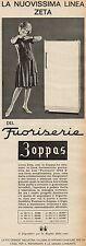 J0453 Frigoriferi ZOPPAS linea Zeta - Pubblicità - 1962 Vintage Advertising