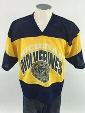 Michigan Wolverines VTG Ice Hockey Jersey M Mens True Fan NCAA College 1316