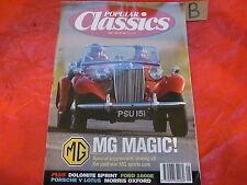 POPULAR CLASSICS MAGAZINE May 1992 914 v EUROPA-GLASSFIBRE-1600E-DOLOMITE-PW MG
