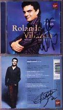 Rolando Villazon & NATALIE DESSAY signed GOUNOD MASSENET CD LE CID Manon Poing
