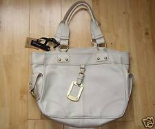 BNWT Stunning M&S Autograph Large Cream Leather Bag, Brand New!