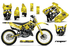 Suzuki RM 125/250 Graphic Kit AMR Racing # Plates Decal Sticker Part 01-09 RPRY