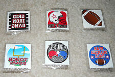 Lot of 12 Football temporary children's tattoos birthday party favor goody bags