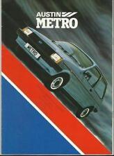 Metro 1980 Car Sales Brochures