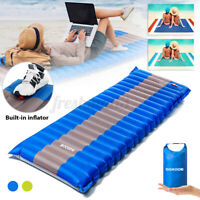 Inflatable Sleeping Pad Camping Mat Air Mattress Cushion  Beach Blanket