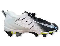 Nike Fast Flex Vapor Shark Baseball Cleats White Black Gray Size Youth 10