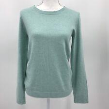 J. Crew Cotton-Wool Teddie Sweater Crew Neck Women's Mint Green Small NWT