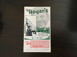 Ben Hogan's Vintage 1st Edition 1953 #1 The Grip Golf Instructions Booklet