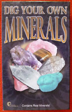 BRITISH FOSSILS DIG YOUR OWN MINERALS Science Kit.