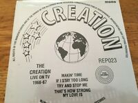 """The Creation - live on tv 1966-67  7"""" EP New and Sealed"""