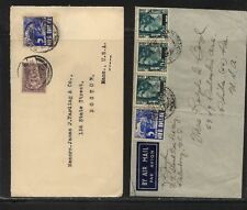 Netherlands   Indies   2  covers  to   US