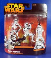 STAR WARS ROTS CLONE TROOPERS 3 PACK ACTION FIGURE ~ NIB NEW
