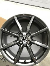 Mazda MX5 ND Roadster GT 2016/17 - 17x7 Genuine Shadow Chrome Wheel