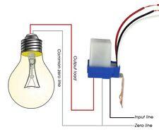 AC DC 24V 10A Sensor Switch Auto On Off Photocell Street Light Photo Switch L