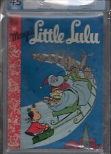 MARGE'S LITTLE LULU #7 PGX 4.5 WHITE PAGES GREAT CHRISTMAS COVER