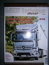 Mercedes ANTOS 10.6 Euro 6 - 330 360 394 430 ch : revue technique RTD 304
