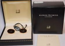 Alfred Dunhill Gold Plated 925 Sterling Silver 18TH HOLE GOLF Cufflinks NEW Box