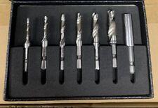 "7PC 1/4"" HSS Drill, Tap & Thread Cutting Set EVA Foam. Snap Up On A Bargain"