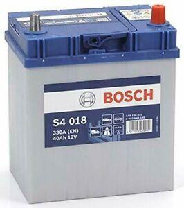 Batería para Coche Bosch S4 40Ah Amperio 330 En 12V Silver S4 018 0092S40180