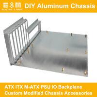 Aluminum Case WTX ATX ITX MATX PC Test Bench Open PSU IO Backplane Graphics Card