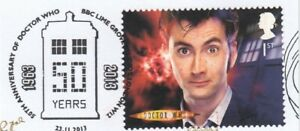 (89381) GB Used Dr Who BBC Lime Grove London W12 2013 ON PIECE
