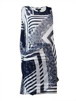 Alfani Women's Printed Draped Overlay Dress