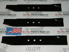 NEW Bolens Tubeframe Mower Deck Blades for 42'' Deck 1721299 1717251 1716764