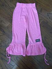NWOT girls Matilda Jane House Of Clouds JILLIAN BIG RUFFLES pants Size 8 HTF